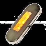 rvs afdekkap zijmarkeringslamp dun_