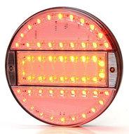 3-KAMER-LED-ROND-ACHTERLICHT-HELDER-GLAS-12-24V